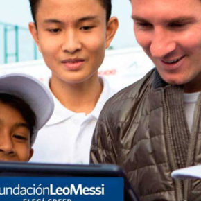 LEO MESSI FOUNDATION AND SPORTLINK - A SOCIAL PARTNERSHIP