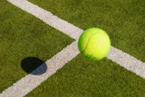 grama sintetica quadra de tenis