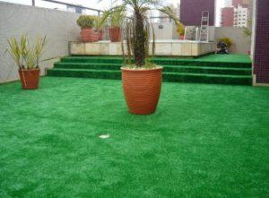 Grama artificial para jardins e playgrounds sportlink