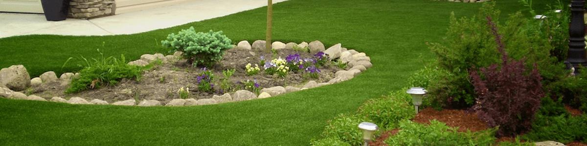 Grama sintética para jardim