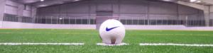 Campo de Futebol Society com Grama Sintética