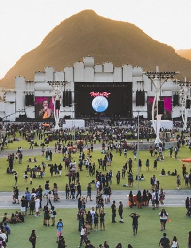 Rock in Rio 2017: 87 mil m² de Grama Sintética na Cidade do Rock