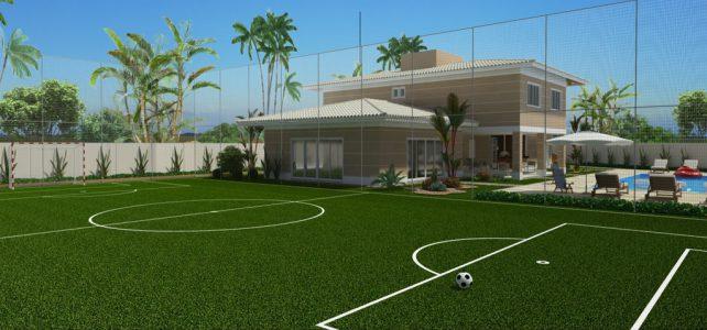 ¿Necesito autorización de alguna institución para tener una cancha de fútbol en mi casa?