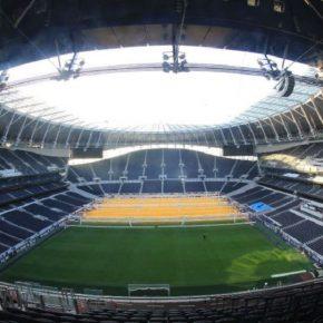 Tottenham inaugura o 2° maior estádio da Inglaterra