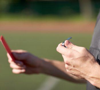 Dicas para fazer arbitragem em um jogo de Futebol Society sportlink